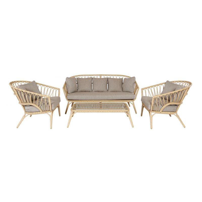 Bamboo loungeset