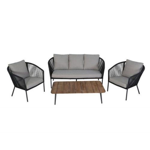 Tuinset Paris Stackable Lounge set In Nederland